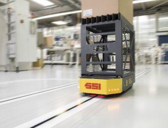 Bachmann Forming optimiza su transporte interno con el Weasel de SSI Schaefer