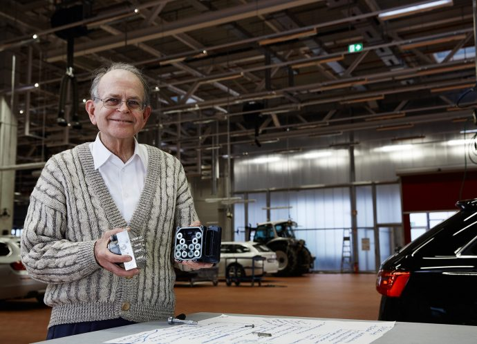 Anton van Zanten (Netherlands), nominated for the European Inventor Award 2016 in the Lifetime Achievement category