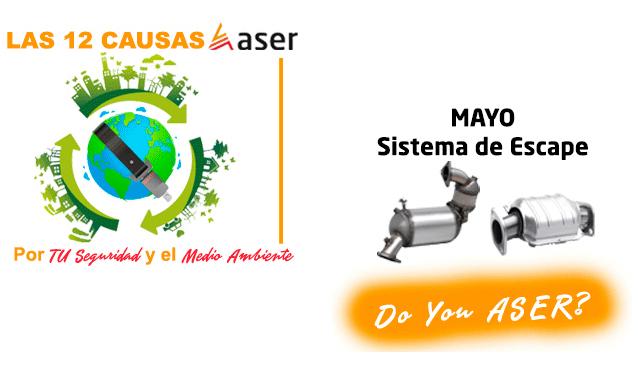 12 Causas ASER sistema de escape
