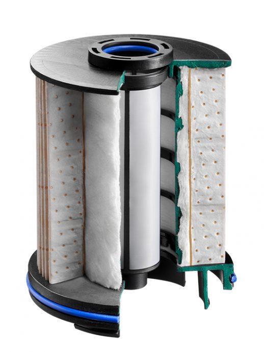 filtración de combustible de MANN-FILTER