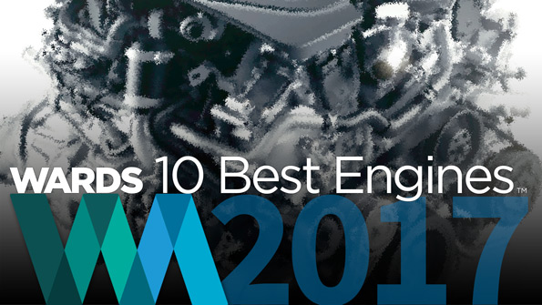 Ward's 10 Best Engines de 2017