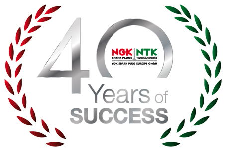 40 aniversario de NGK Spark Plug Europe