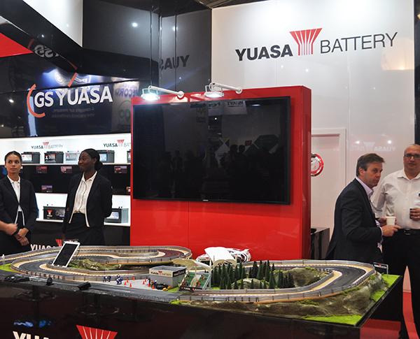 GS Yuasa en Equip Auto 2017