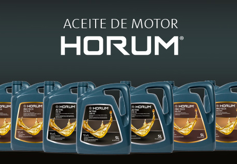 aceite de motor HORUM de PRO Service
