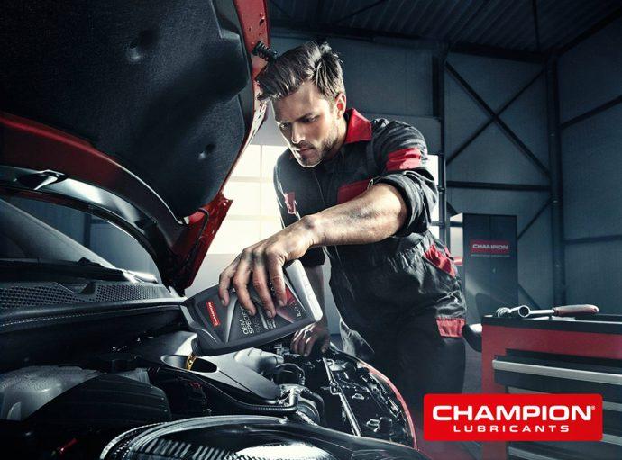 aceites y lubricantes Champion Lubes para automoción