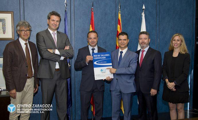 talleres Acoat Selected certificacion Centro Zaragoza