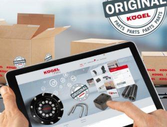 Kögel amplía y moderniza su tienda online de piezas de repuesto