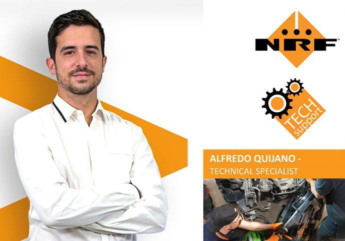 Alfredo Quijano responsable del servicio técnico NRF TECH-Support para España y Portugal