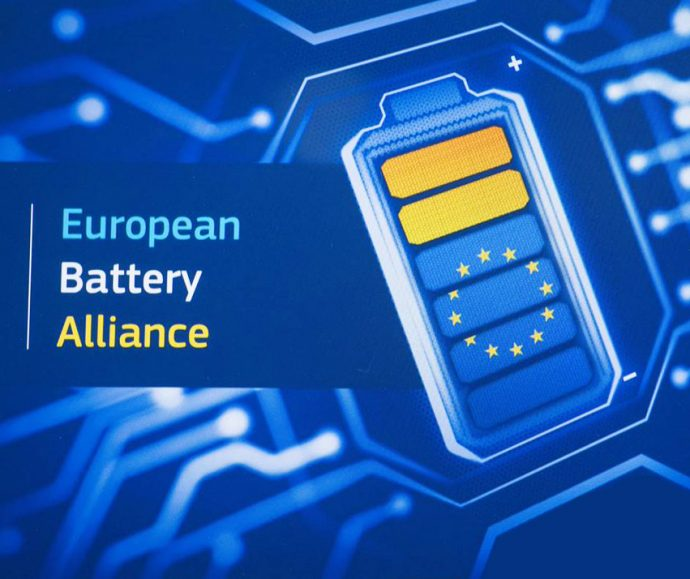 alianza europea para la fabricación de baterías