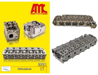 AMC presenta un nuevo catálogo de culatas para vehículos industriales