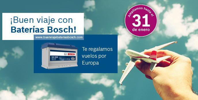 campaña viajes baterías Bosch
