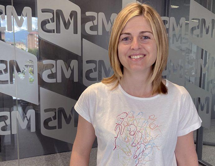 Andel entrevista Naiara Lasuen de MS Motorservice