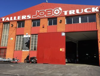 Talleres Jobotruck celebra su primer año de servicio para el vehículo industrial