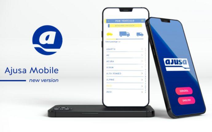 app Ajusa Mobile incorpora nuevas funcionalidades