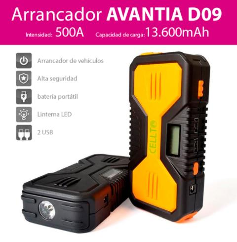 arrancador Avantia D09 con recambios Orio