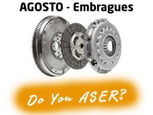 """Las """"12 Causas"""" ASER reflexionan en agosto sobre el papel del embrague"""