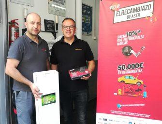 ASER entrega los mejores premios de su campaña El Recambiazo