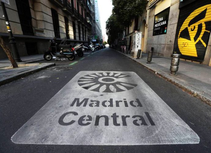Asetra pide moratoria 2021 para los talleres en Madrid Central