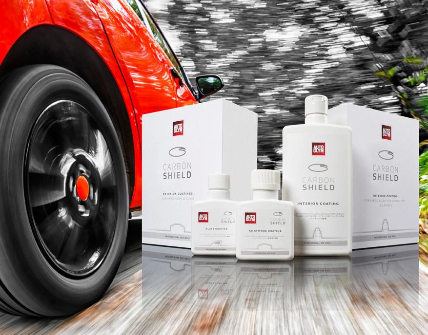 Autobrillante lanza la gama de recubrimientos Carbon Shield de Autoglym