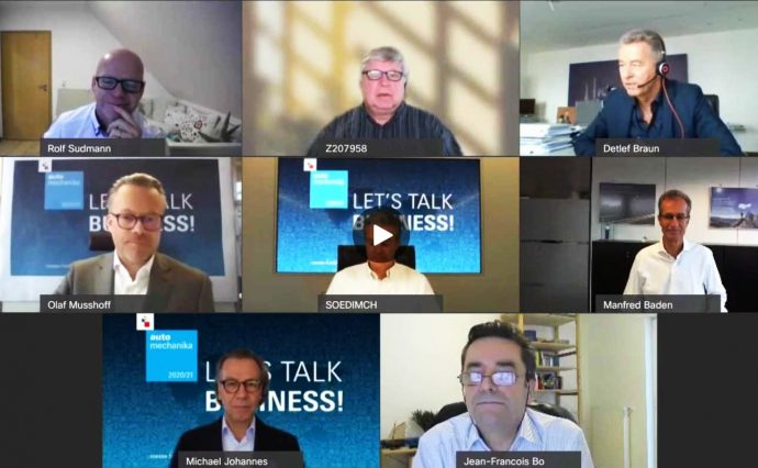 Automechanika celebra primera charla digital Hablemos de negocios