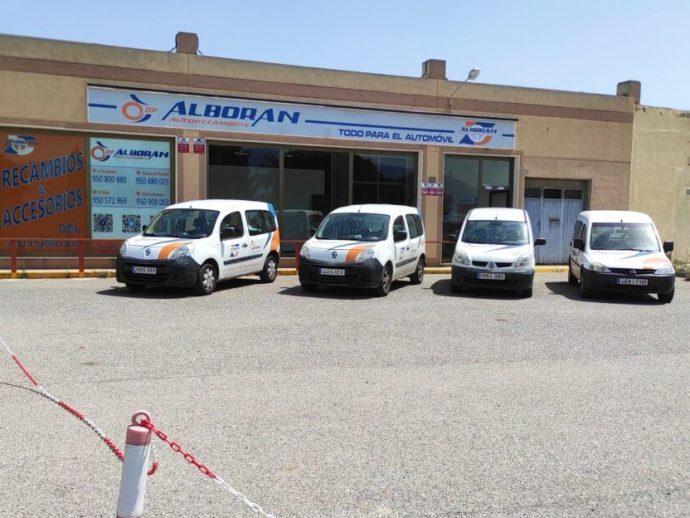Autorecambios Alborán socio de Dipart abre nuevo punto de venta en Almería