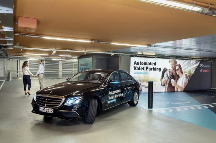 servicio automatizado de estacionamiento