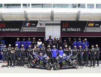 Axalta y el Yamaha Factory Racing MotoGP siguen colaborando en 2021