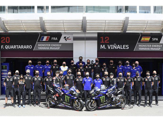 Axalta renueva como proveedor oficial del Yamaha Factory Racing MotoGP en 2021