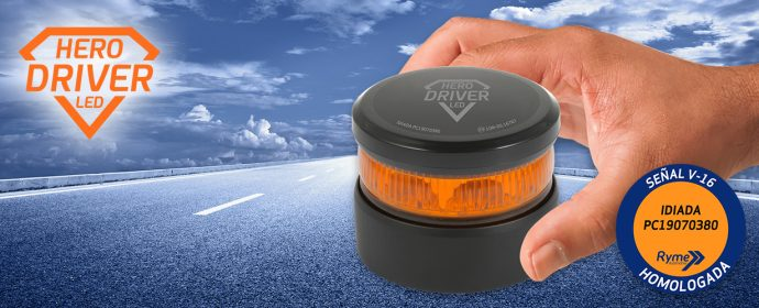 baliza de emergencia Hero Driver LED de Ryme Automotive
