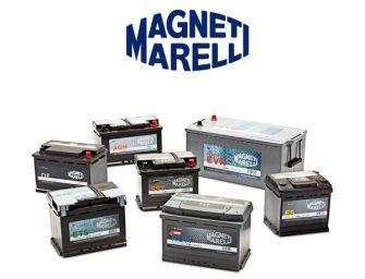 Conoce la gama de baterías Magneti Marelli para turismos