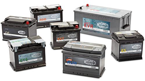 baterías Magneti Marelli para turismo