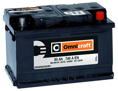 baterías Omnicraft