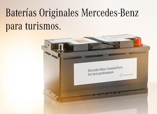 Baterías Originales Mercedes-Benz