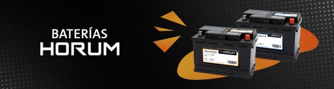 baterías para automóviles HORUM