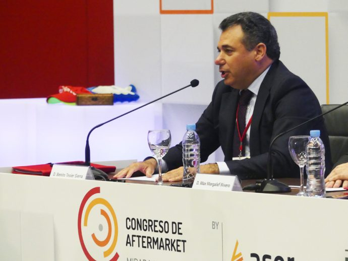 Benito Tesier Sernauto en II Congreso Aftermarket ASER