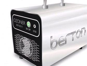 Nuevo Berton Ozoner para la desinfección de vehículos en el taller