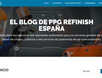 PPG lanza un nuevo blog de contenido para los profesionales de chapa y pintura