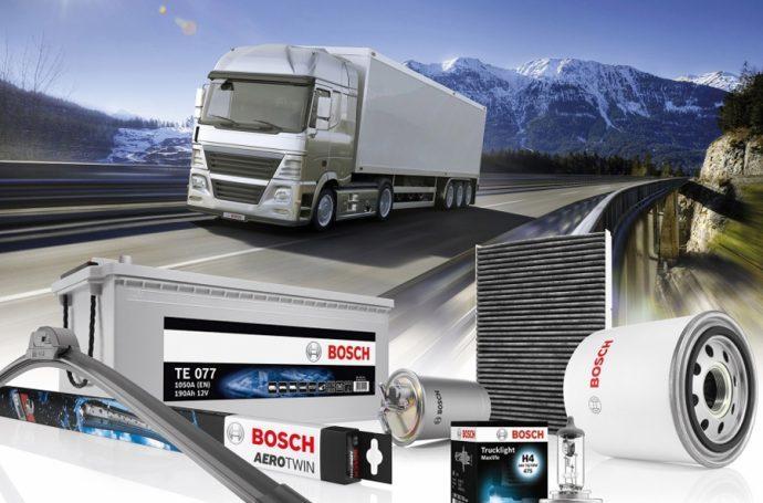 Bosch campaña promocional vehículos industriales 2019