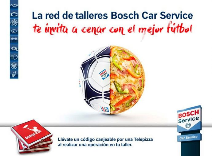 Bosch Car Service pizzas Mundial