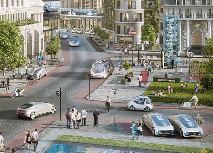 Bosch Daimler conducción totalmente automatizada