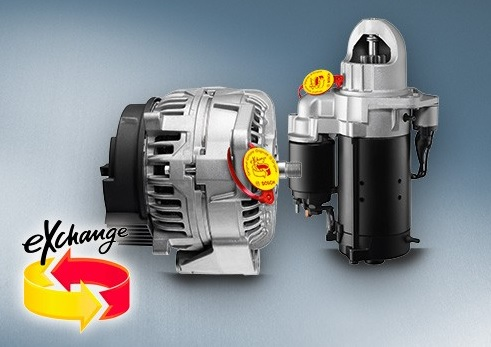 campaña de Bosch alternador motor arranque