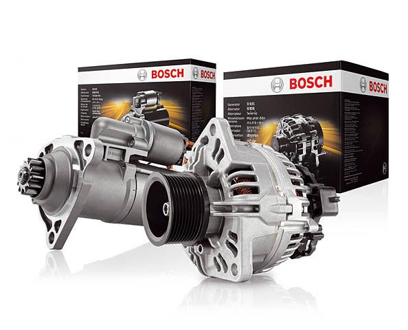 Bosch motores de arranque y alternadores