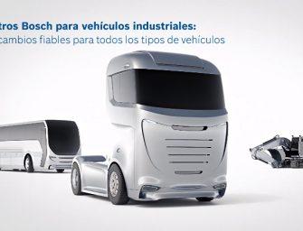 Bosch muestra en vídeo la importancia de los filtros en los vehículos industriales