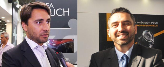 Santiago Malbran y Stephane hates Brain Bee Automotive Ibérica