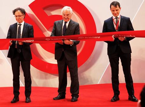 Brembo nueva planta China de pinzas de freno de aluminio