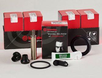 Brembo lanza al aftermarket nuevos kits para reparación de pinzas de freno