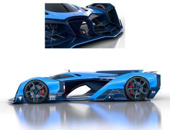 Bugatti emplea la propulsión de iones para su último prototipo
