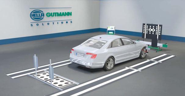 calibración ADAS en coches nuevos