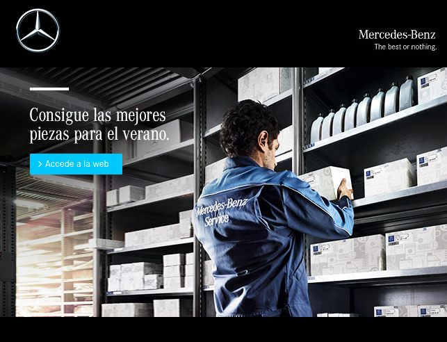 calidad Mercedes-Benz campaña recambios verano 2019