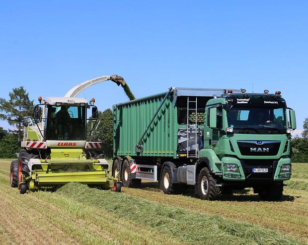 camión agrícola MAN TGS